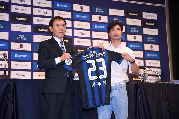 Số áo Công Phượng ở Incheon United được săn đón trước K League 2019