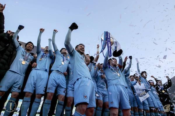 Bảng xếp hạng K League 2019: Incheon United lọt tốp 3 dẫn đầu
