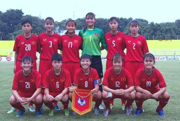 Kết quả U16 nữ Việt Nam vs U16 nữ Lào (FT 1-0): 3 điểm đầu tay