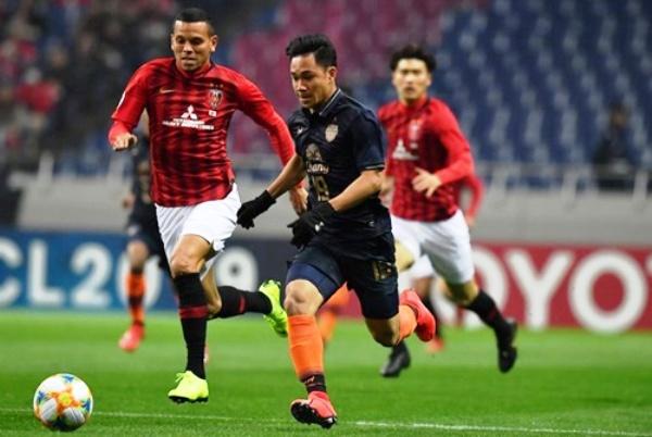 Kết quả Urawa Red vs Buriram United (FT 3-0): Xuân Trường ngồi ngoài, Buriram đại bại