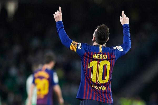 Chiếc giày vàng châu Âu 2019: Messi đơn thương độc mã