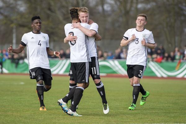 Trực tiếp U19 Đức vs U19 Na Uy, 17h ngày 23/3