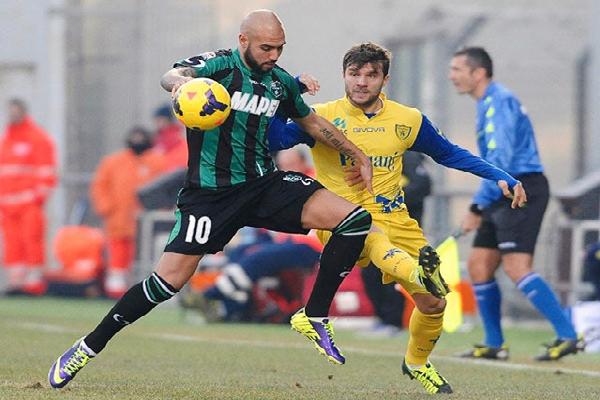 Xem trực tiếp Sassuolo vs Chievo (0h, 5/4) trên kênh nào?