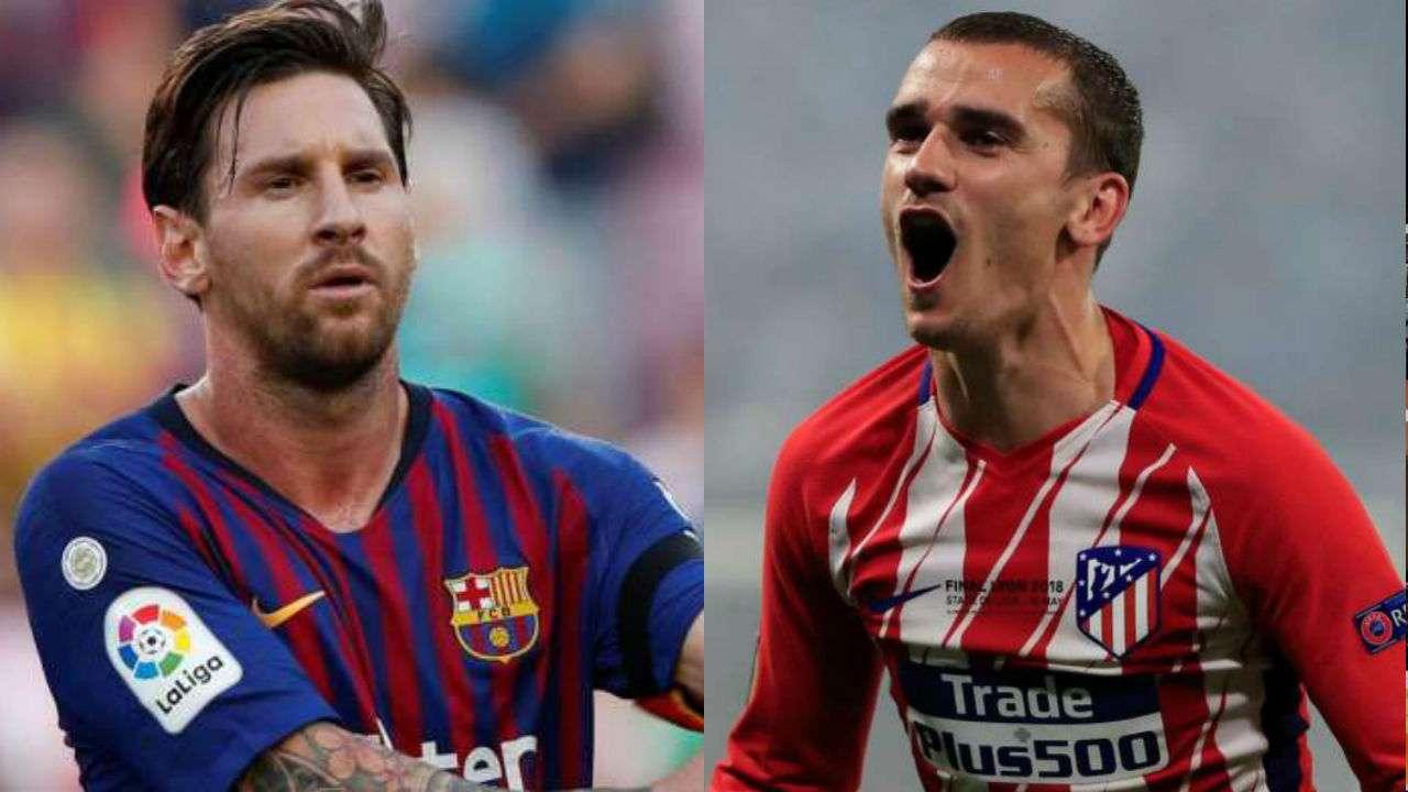 Xem trực tiếp Barcelona vs Atletico Madrid trên kênh nào?
