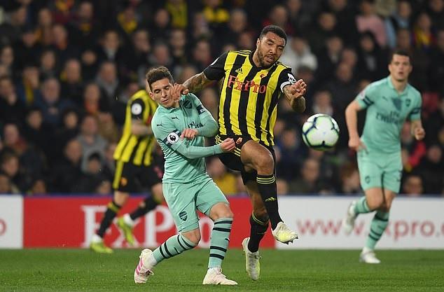 Video Watford 0-1 Arsenal (Premier League, Ngoại hạng Anh vòng 34)