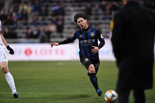 Đội hình ra sân Incheon United vs Cheongju: Công Phượng đá chính