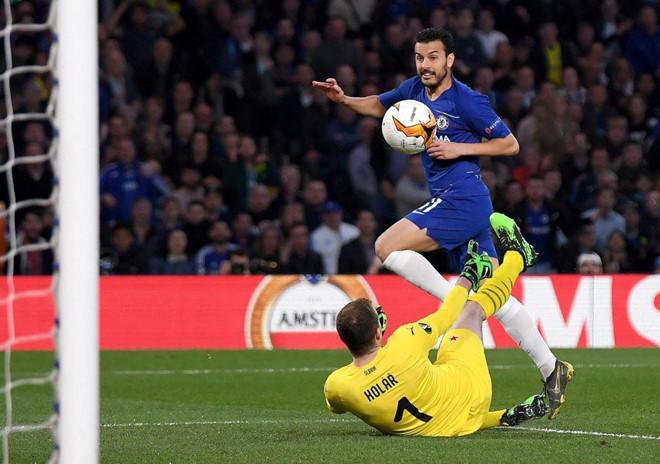 Kết quả bóng đá hôm nay (19/4): Chelsea 4-3 Slavia Praha