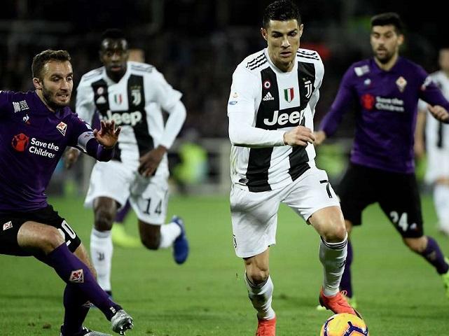 Juventus 1-2 Fiorentina: Ronaldo vô địch Serie A