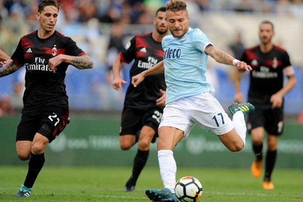 AC Milan 0-1 Lazio: Top 4 lung lay
