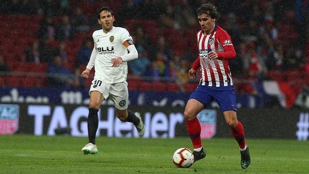 Kết quả Atletico Madrid 3-2 Valencia: Giữ chắc vị trí thứ hai