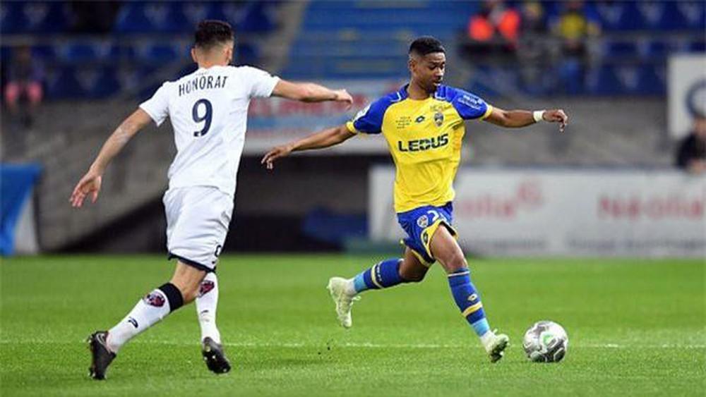 Jason Quang Vinh Pendant đá trọn 90 phút, Sochaux thua sốc trước Red Star
