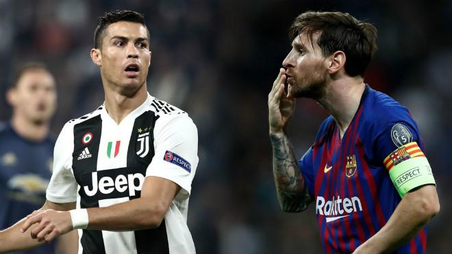 Tổng số bàn thắng của Ronaldo và Messi trong sự nghiệp mùa này