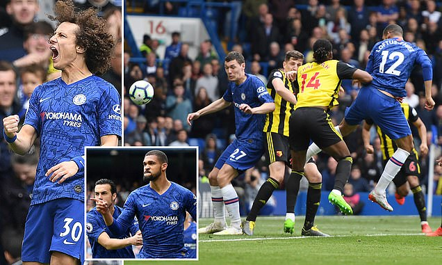 Video xem lại Chelsea 3-0 Watford: The Blues vào Top 3