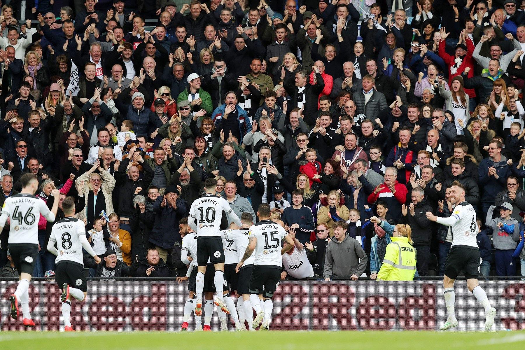 Derby County 3-1 West Brom: Đoàn quân của Frank Lampard đoạt vé dự vòng play-off
