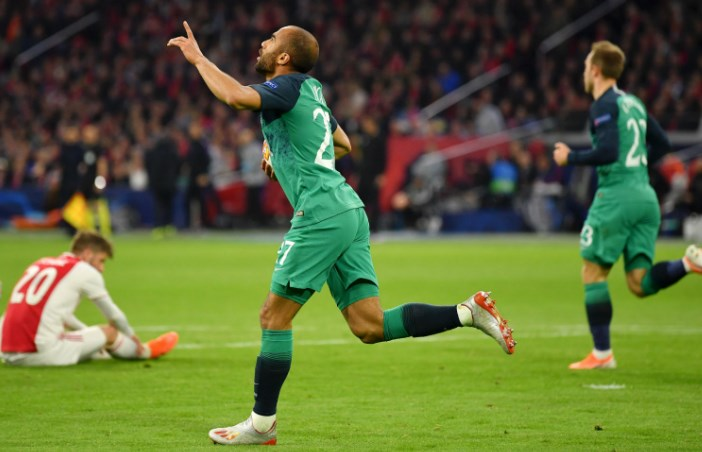 Kết quả bóng đá hôm nay 9/5: Ajax 2-3 Tottenham