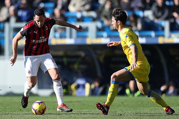 Xem trực tiếp AC Milan vs Frosinone (23h 19/5) trên kênh nào?