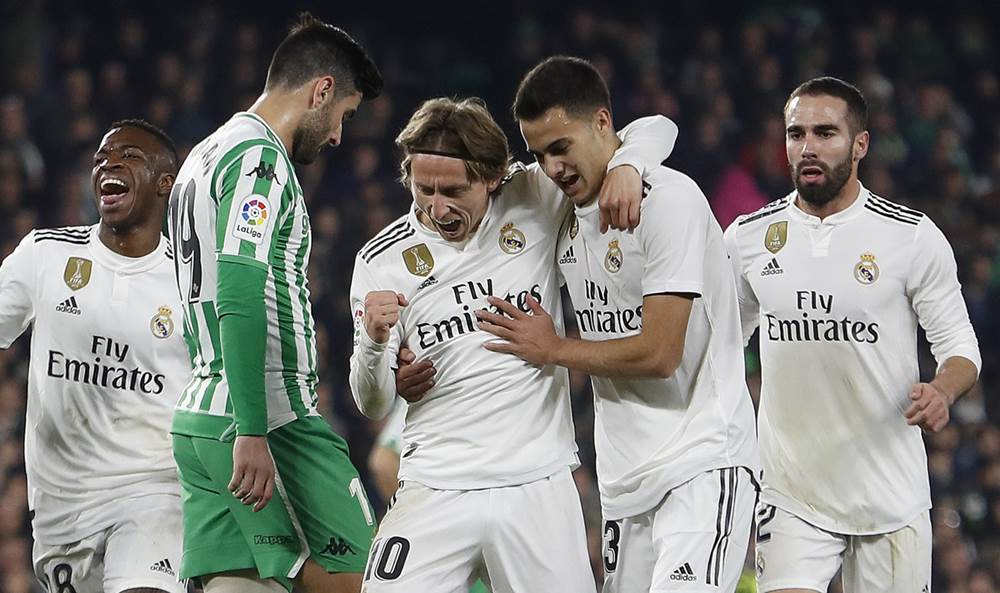 Xem trực tiếp Real Madrid vs Real Betis (17h ngày 19/5) trên kênh nào?