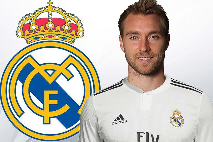 Lộ thời điểm Eriksen trở thành người của Real Madrid