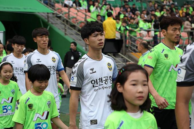 Công Phượng chơi hạn chế, hay mất bóng tại Incheon United