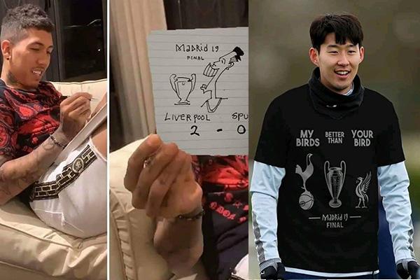 Firmino 'gáy sớm', Son Heung-min đáp trả cực gắt trước chung kết C1 2019