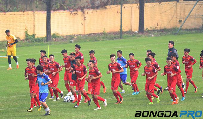 Lịch thi đấu giao hữu U23 Việt Nam vs Viettel