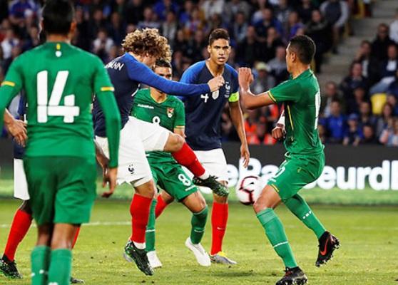 Griezmann tỏa sáng, Pháp chạy đà thành công trước loạt trận vòng loại Euro 2020
