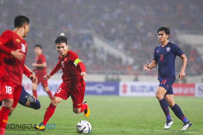 Truyền hình Hàn Quốc trực tiếp trận Việt Nam đấu với Thái Lan