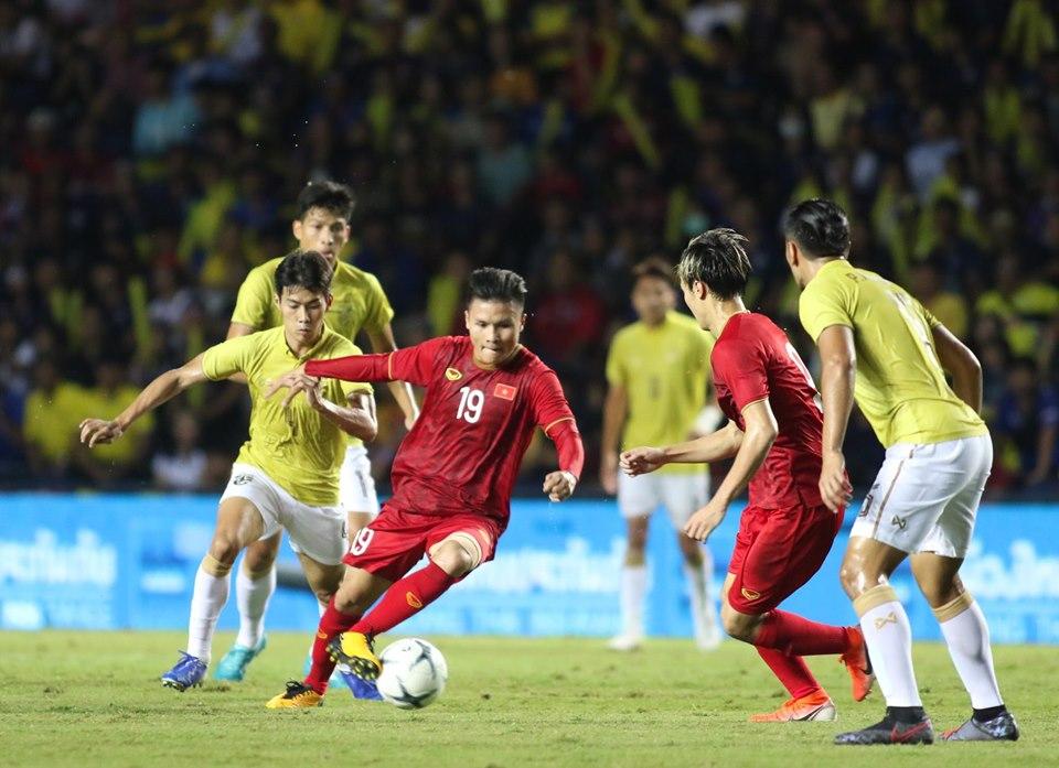 Thắng Thái Lan, ĐT Việt Nam tăng bậc trên BXH FIFA