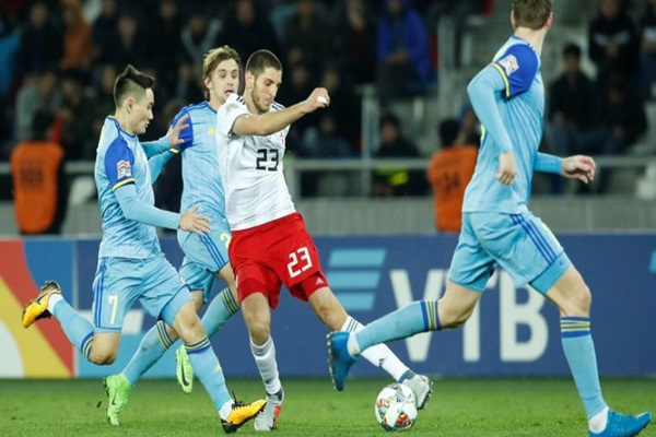 Nhận định Georgia vs Gibraltar, 23h ngày 7/6 (Vòng loại EURO 2020)