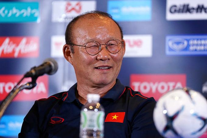 Park Hang Seo: 'Việt Nam đã thắng chung kết King's Cup 2019'