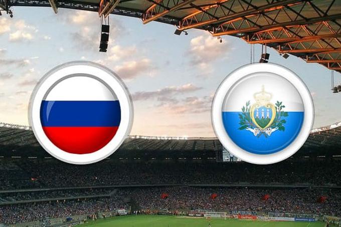Xem trực tiếp Nga vs San Marino (23h ngày 8/6) trên kênh nào?
