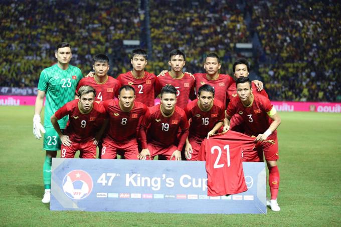 Cầu thủ Việt Nam lọt vào mắt xanh tuyển trạch viên châu Âu sau màn trình diễn ở King's Cup 2019