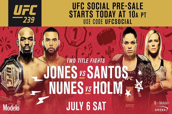 Lịch thi đấu UFC 239: