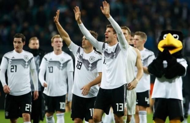 Kết quả bóng đá hôm nay 12/6: Đức 8-0 Estonia