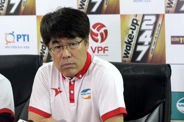 Viettel chia tay huấn luyện viên Hàn Quốc, Lee Heung Sil