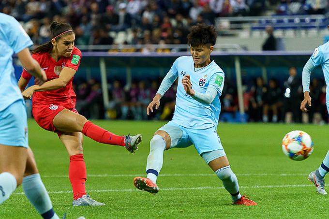 World Cup nữ 2019: Thái Lan thua trận đậm nhất lịch sử