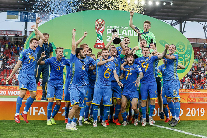 U20 Ukraine vô địch World Cup U20 2019