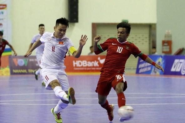 Lịch thi đấu tứ kết U20 Futsal châu Á 2019: Việt Nam vs Indonesia