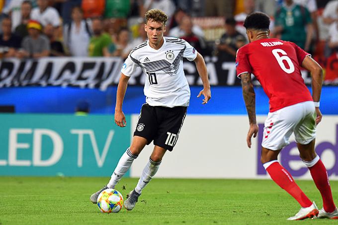 Kết quả U21 châu Âu hôm nay 18/6: Đức 3-1 Đan Mạch