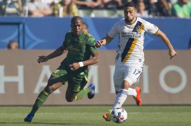 Trực tiếp Portland Timbers vs LA Galaxy, 10h ngày 20/6