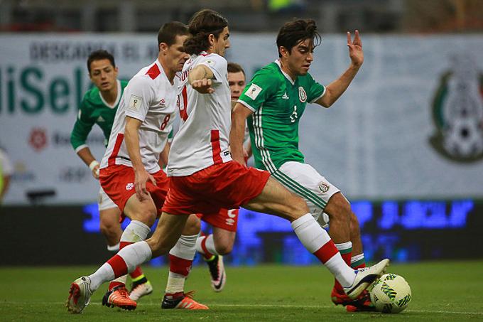 Trực tiếp Mexico vs Canada, 9h30 ngày 20/6