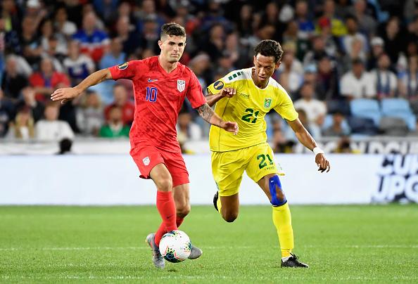 Pulisic khiến Chelsea lo sốt vó vì vết đau tại Gold Cup 2019