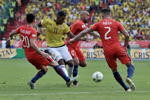 Máy tính dự đoán Colombia vs Chile, 6h ngày 29/6