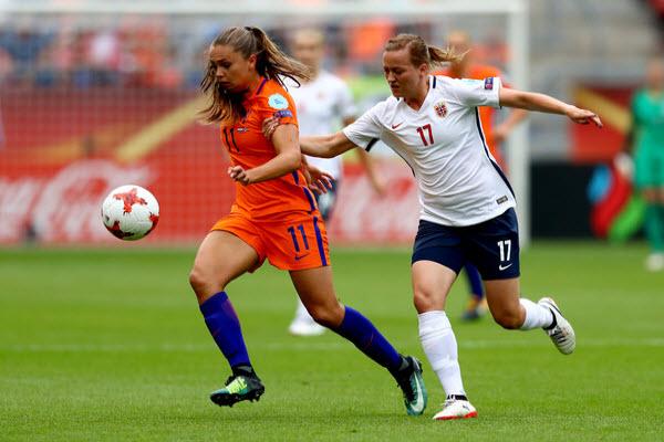 Hà Lan gặp Mỹ ở chung kết World Cup nữ 2019