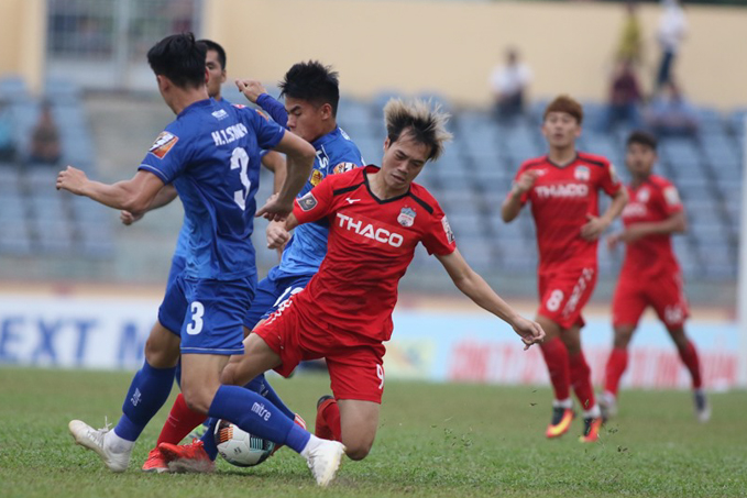 Quảng Nam 0-0 HAGL (Pen: 5-4): Quảng Nam vào bán kết Cúp Quốc gia