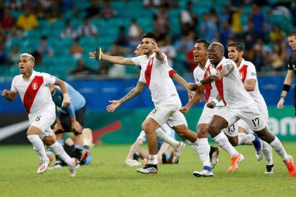 Peru lần đầu tiên vào chung kết Copa America sau 44 năm