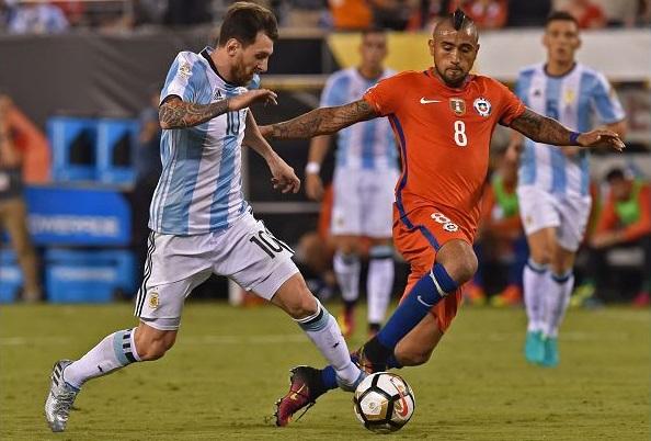 Máy tính dự đoán Argentina vs Chile, 2h ngày 7/7