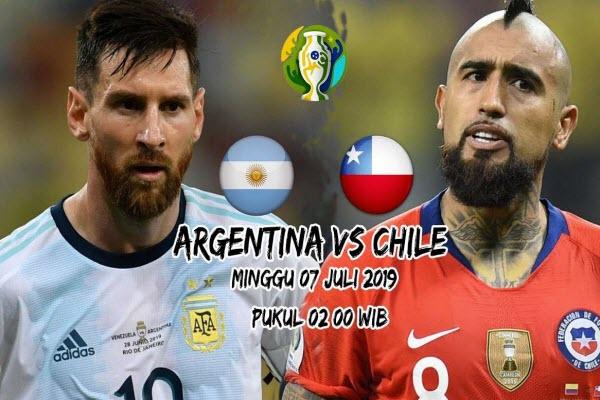 Trực tiếp Argentina vs Chile, 2h ngày 7/7