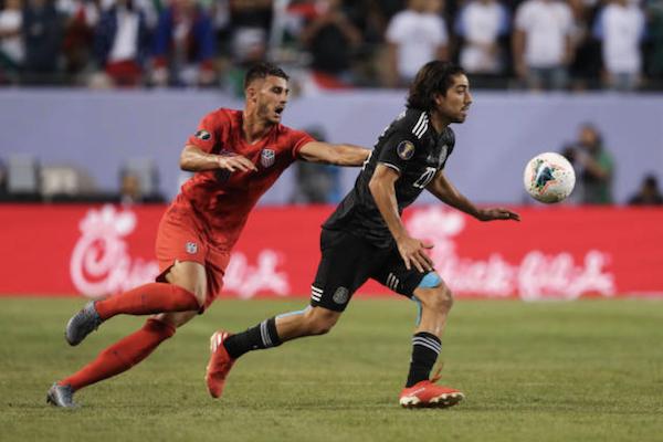 Trực tiếp Mỹ 0-0 Mexico (H1): Arriola vô duyên