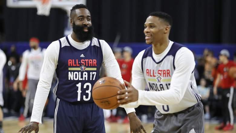 NBA Trade 2019: James Harden chính thức tái ngộ Russell Westbrook ở Houston Rockets